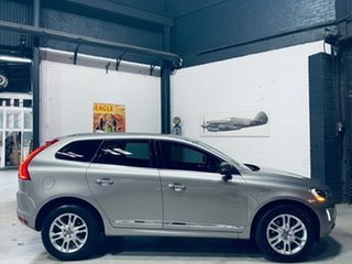 2014 Volvo XC60 DZ MY14 T5 Geartronic Luxury Silver 8 Speed Sports Automatic Wagon.