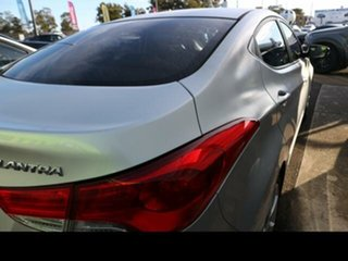 2012 Hyundai Elantra MD Premium Silver 6 Speed Automatic Sedan