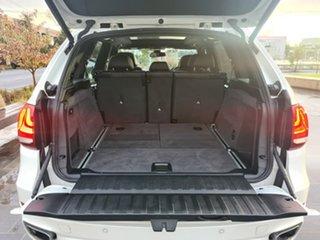 2015 BMW X5 F15 xDrive30d White 8 Speed Sports Automatic Wagon