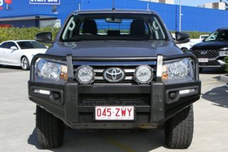 2017 Toyota Hilux GUN126R SR Double Cab Silver 6 Speed Sports Automatic Cab Chassis
