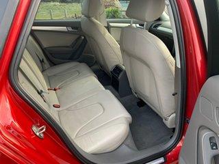 2010 Audi A4 B8 (8K) 2.0 TFSI Red CVT Multitronic Sedan