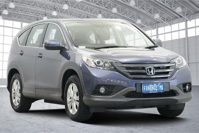 Used Honda CR-V RM MY14 DTi-L 4WD Victoria Park, 2014 Honda CR-V RM MY14 DTi-L 4WD Blue 5 Speed Sports Automatic Wagon