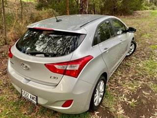 2012 Hyundai i30 GD Elite Sleek Silver 6 Speed Sports Automatic Hatchback.