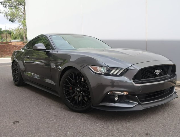 Used Ford Mustang FM 2017MY GT Fastback SelectShift Reynella, 2016 Ford Mustang FM 2017MY GT Fastback SelectShift Grey 6 Speed Sports Automatic Fastback