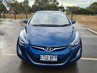 2014 Hyundai Elantra MD3 Trophy Blue 6 Speed Manual Sedan.