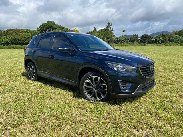 Pre-Owned Mazda CX-5 MY15 Akera (4x4) Atherton, 2016 Mazda CX-5 MY15 Akera (4x4) Blue 6 Speed Automatic Wagon