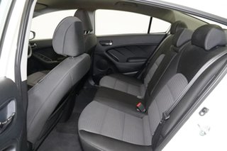 2014 Kia Cerato YD MY15 SLi Clear White 6 Speed Sports Automatic Sedan