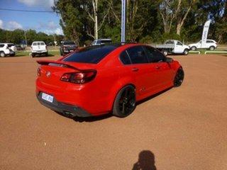 2013 Holden Commodore VF SS-V Redline Red 6 Speed Manual Sedan.