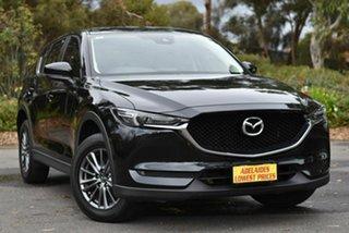 2018 Mazda CX-5 KF4WLA Maxx SKYACTIV-Drive i-ACTIV AWD Sport Black 6 Speed Sports Automatic Wagon.