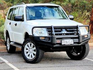 2011 Mitsubishi Pajero NT MY11 GL White 5 Speed Sports Automatic Wagon.