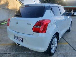 2018 Suzuki Swift AZ GL White 5 Speed Manual Hatchback