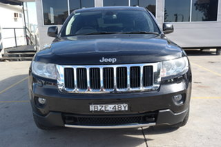 2011 Jeep Grand Cherokee WK MY2011 Limited Black 5 Speed Sports Automatic Wagon.