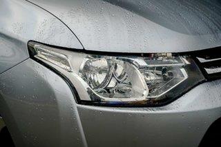 2013 Mitsubishi Outlander ZJ MY13 Aspire 4WD Silver 6 Speed Sports Automatic Wagon