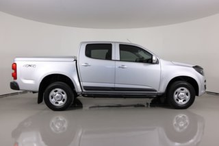 2019 Holden Colorado RG MY20 LS (4x4) Silver 6 Speed Automatic Crew Cab Pickup