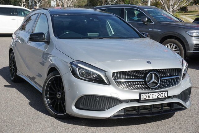 Used Mercedes-Benz A-Class W176 807MY A200 DCT Phillip, 2017 Mercedes-Benz A-Class W176 807MY A200 DCT Silver 7 Speed Sports Automatic Dual Clutch Hatchback