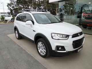 2017 Holden Captiva CG MY17 Active 7 Seater White 6 Speed Automatic Wagon