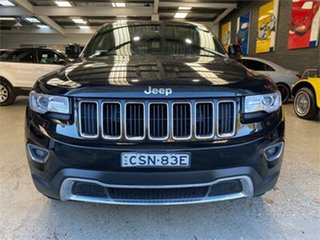 2014 Jeep Grand Cherokee WK Limited Black Sports Automatic Wagon.