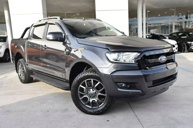 Used Ford Ranger PX MkII FX4 Double Cab Oakleigh, 2017 Ford Ranger PX MkII FX4 Double Cab Grey 6 Speed Sports Automatic Utility