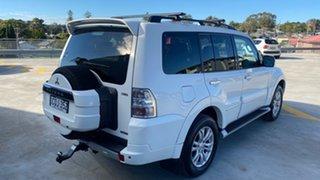 2013 Mitsubishi Pajero NW MY14 Exceed White 5 Speed Sports Automatic Wagon