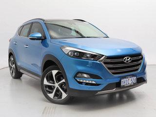 2016 Hyundai Tucson TLE Highlander (AWD) Blue 7 Speed Auto Dual Clutch Wagon.