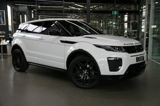 2017 Land Rover Range Rover Evoque L538 MY17 HSE White 9 Speed Sports Automatic Wagon.