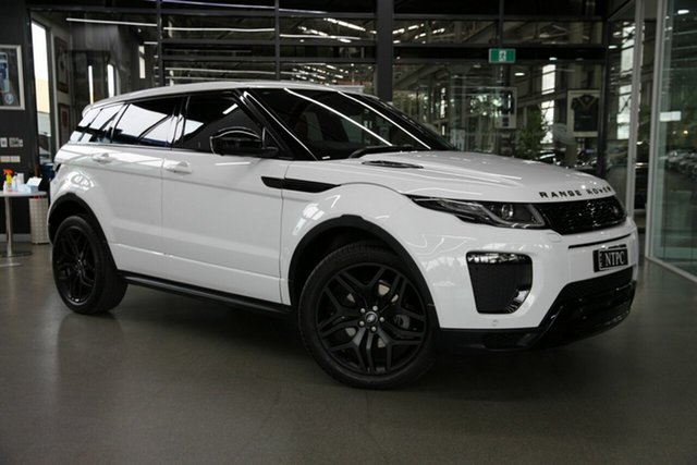 Used Land Rover Range Rover Evoque L538 MY17 HSE North Melbourne, 2017 Land Rover Range Rover Evoque L538 MY17 HSE White 9 Speed Sports Automatic Wagon