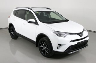 2018 Toyota RAV4 ZSA42R MY18 GXL (2WD) White Continuous Variable Wagon