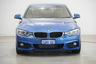 2015 BMW 4 Series F32 420i M Sport Blue 8 Speed Sports Automatic Coupe.