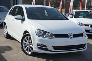2015 Volkswagen Golf VII MY15 110TDI DSG Highline White 6 Speed Sports Automatic Dual Clutch.