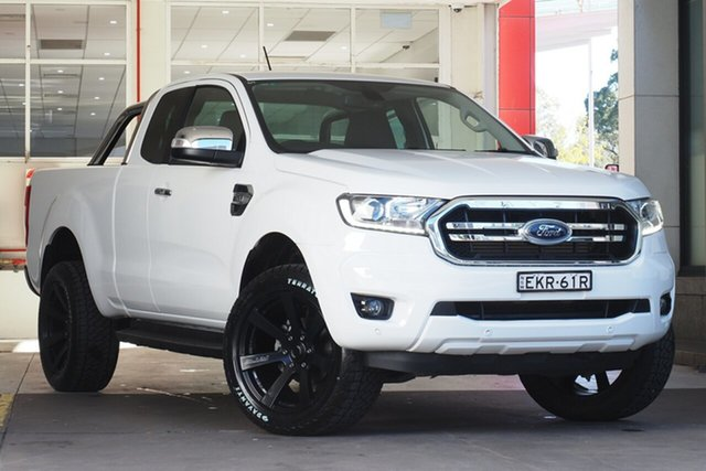 Used Ford Ranger PX MkIII 2019.00MY XLT Parramatta, 2019 Ford Ranger PX MkIII 2019.00MY XLT White 6 Speed Sports Automatic Super Cab Pick Up