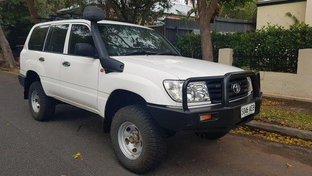 Used Toyota Landcruiser HZJ105R Upgrade (4x4) Prospect, 2006 Toyota Landcruiser HZJ105R Upgrade (4x4) White 5 Speed Manual 4x4 Wagon