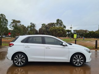 2018 Hyundai i30 PD2 MY18 Premium White 6 Speed Sports Automatic Hatchback.