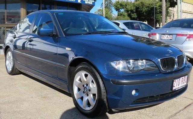 Used BMW 318i E46 Toowoomba, 2004 BMW 318i E46 Blue 5 Speed Auto Steptronic Sedan