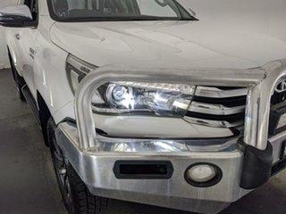 2018 Toyota Hilux GUN126R SR5 Extra Cab White 6 Speed Sports Automatic Utility.