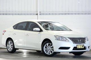 2016 Nissan Pulsar B17 Series 2 ST Ivory Pearl 1 Speed Constant Variable Sedan.