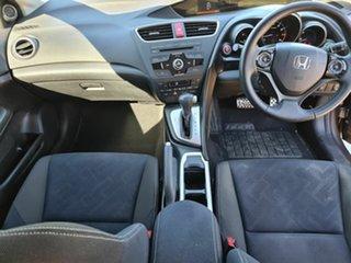 2014 Honda Civic 9th Gen MY14 VTi-L Brown 5 Speed Sports Automatic Hatchback