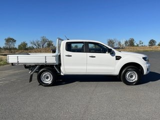 2020 Ford Ranger PX MkIII 2021.25MY XL Arctic White 6 Speed Sports Automatic Double Cab Chassis.