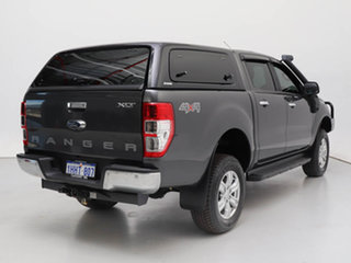 2017 Ford Ranger PX MkII MY18 XLT 3.2 (4x4) Grey 6 Speed Manual Double Cab Pick Up
