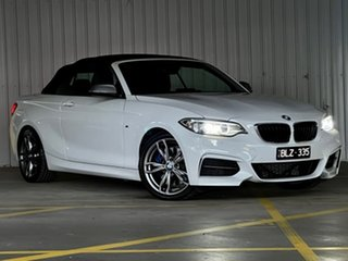 2016 BMW 2 Series F23 M235I White 8 Speed Sports Automatic Convertible.
