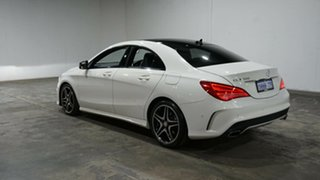 2016 Mercedes-Benz CLA-Class C117 806MY CLA200 DCT Cirrus White 7 Speed Sports Automatic Dual Clutch.