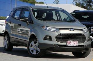 2014 Ford Ecosport BK Ambiente PwrShift Silver 6 Speed Sports Automatic Dual Clutch Wagon.