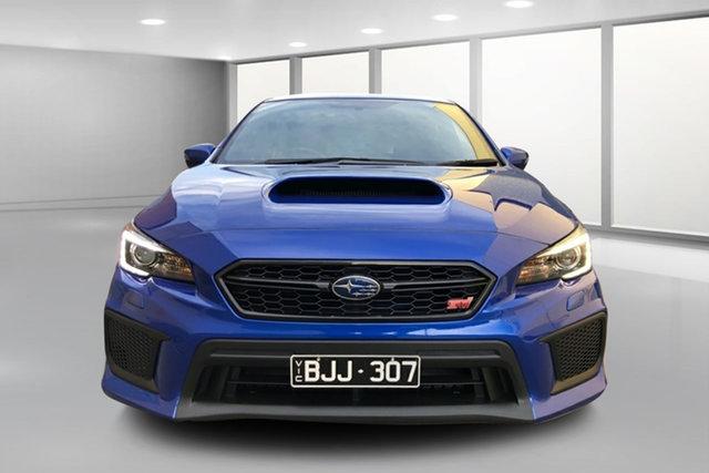 Used Subaru WRX V1 MY18 STI AWD Premium West Footscray, 2017 Subaru WRX V1 MY18 STI AWD Premium Blue 6 Speed Manual Sedan