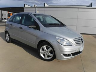 2007 Mercedes-Benz B-Class W245 B180 CDI Silver 7 Speed Constant Variable Hatchback.