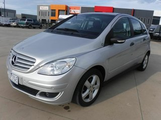 2007 Mercedes-Benz B-Class W245 B180 CDI Silver 7 Speed Constant Variable Hatchback