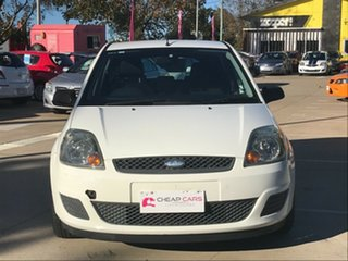2006 Ford Fiesta WQ LX White 4 Speed Automatic Hatchback