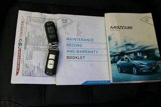 2016 Mazda 6 GJ1022 Atenza SKYACTIV-Drive Silver 6 Speed Sports Automatic Sedan.