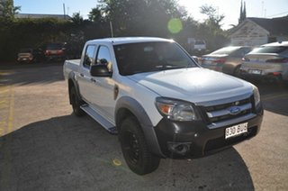 2009 Ford Ranger PK XL (4x2) White 5 Speed Automatic Dual Cab Chassis.