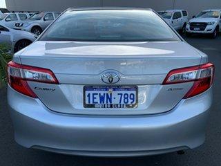 2014 Toyota Camry ASV50R Altise Silver 6 Speed Sports Automatic Sedan.