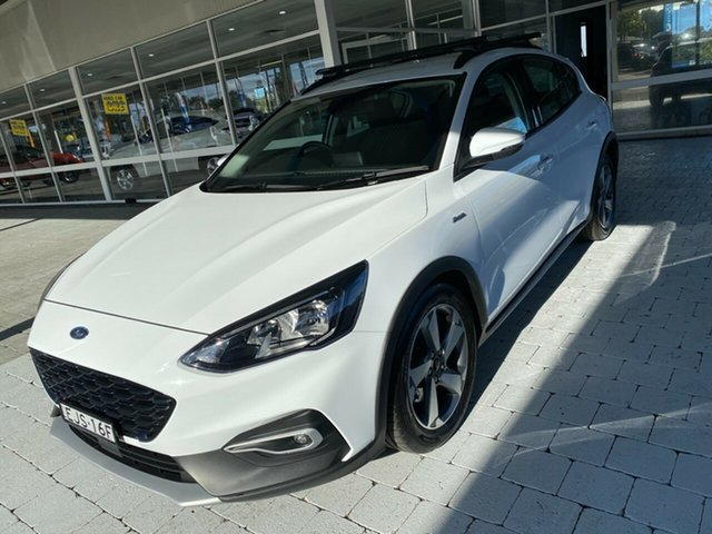Used Ford Focus Active Taree, 2019 Ford Focus Active White Automatic Hatchback