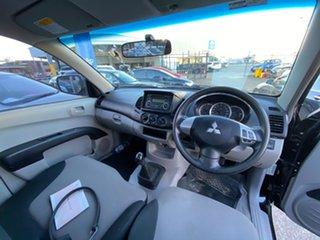 2014 Mitsubishi Triton MN MY15 GLX 4x2 Black 5 Speed Manual Cab Chassis